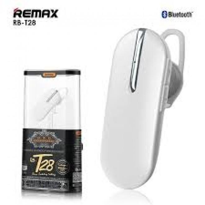 Remax RB-T28 Wireless ακουστικό Bluetooth 4.0 Earpiece Άσπρο