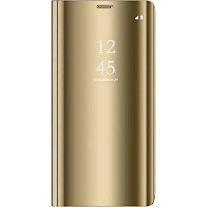 Θήκη Clear View Cover Για Samsung Galaxy S8 Χρυσή